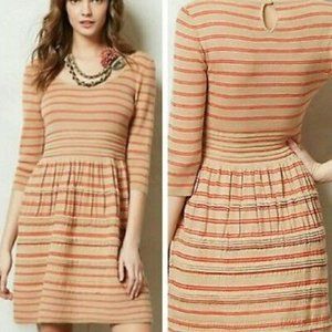 Knitted & Knotted | Elodie Striped Sweater Dress